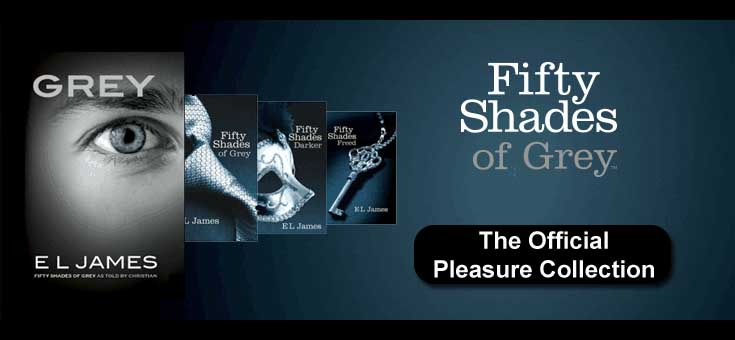 Fifty Shades of GreyThe Official Pleasure Collection