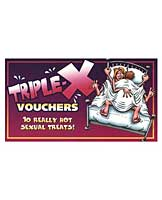 Triple X Voucher Coupon Book