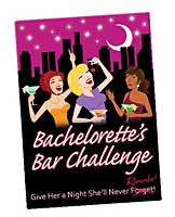 Bachelorette's Bar Challenge Card Game