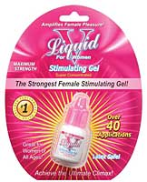 Liquid V Female Stimulant - 1/3 oz Bottle in Clamshell