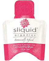 Sliquid Organics O Gel .17 oz Pillow
