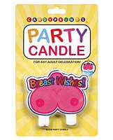 Breast Wishes Party Candle