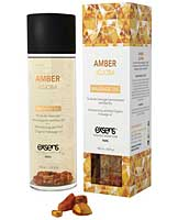 EXSENS of Paris Organic Massage Oil - Jojoba w/Amber Crystals