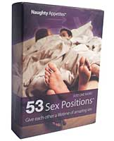 Naughty Appetites 53 Sex Positions Card Game