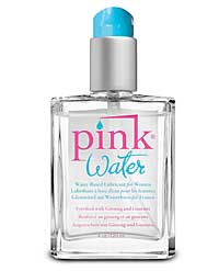 Pink Water Based Lubricant - 4 oz Bottle w/Pump