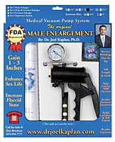 "Dr. Joel Kaplan Large Male Enlargement Pump System 2.25"" O.D."