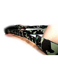 Sensual Sin Leather Adjustable Travel Sling - Camo