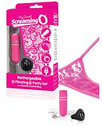 Screaming O My Secret Charged Remote Control Panty - Pink