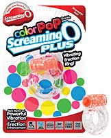Screaming O Color Pop Quickie O Plus - Orange