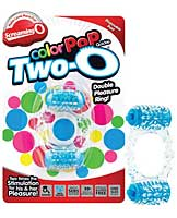 Screaming O Color Pop Quickie Two-O - Blue