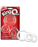 Screaming O RingO - Clear Pack of 3