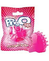 Screaming O FingO Tips - Pink