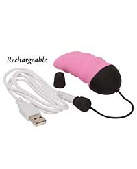 Simple & True Remote Control Vibrating Tongue - Pink