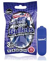 Screaming O Soft Touch Vooom Bullet - Blue