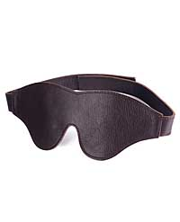 Spartacus Blindfold Classic Cut - Brown Leather