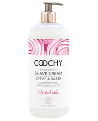 COOCHY Shave Cream - 32 oz Frosted Cake