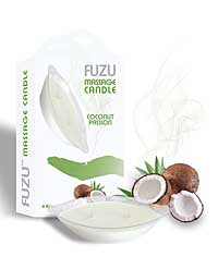 Fuzu Massage Candle - 4 oz Coconut Passion