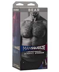 Man Squeeze Bear Ass - Vanilla