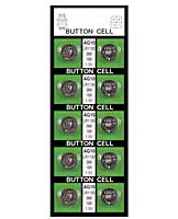 Batteries AG10 - Card of 10 (BAT6-110A)