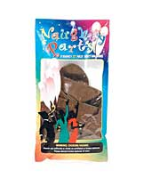 "22"" Naughty Party Penis Balloons - Brown Pack of 8"
