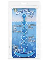 Anchor's Away Beaded Anal Plug - Blue