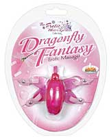 Dragonfly Fantasy w/Adjustable Straps