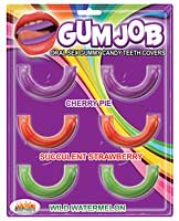 Gum Job Oral Sex Candy Teeth Covers