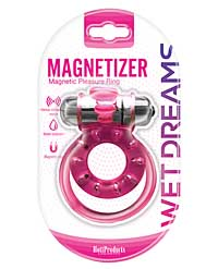 Wet Dreams Magnetizer Magnetic Pleasure Ring - Pink