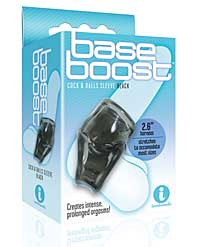 The 9's Base Boost Cock & Balls Sleeve - Black