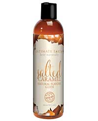 Intimate Earth Natural Flavors Glide ? 60 ml Salted Caramel