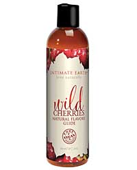 Intimate Earth Natural Flavors Glide ? 60 ml Wild Cherries