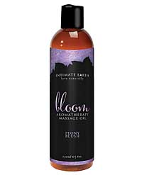 Intimate Earth Bloom Massage Oil - 240 ml Peony Blush
