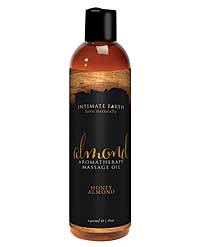 Intimate Earth Massage Oil - 240 ml Almond