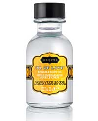 Kama Sutra Oil of Love - 0.75 oz Coconut Pineapple