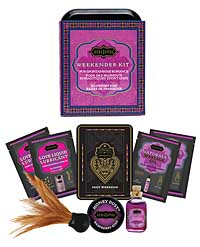 Kama Sutra The Weekender Kit - Raspberry Kiss