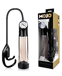Mojo Momentum Power Grip Pump - Black/Smoke