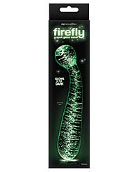Firefly Glass G Spot Glow Wand - Clear