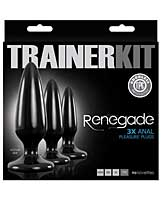 NS Novelties Renegade Pleasure Plug Trainer Kit - Black