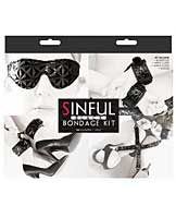 Sinful Bondage Kit - Black