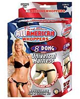"All American Whoppers Universal Harness w/8"" Dong"