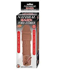 Natural Realskin Penis Extender - Brown