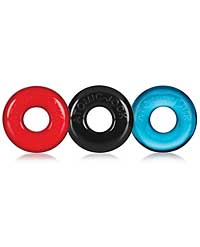 Oxballs Ringer Donut 1 - Multicolored Pack of 3