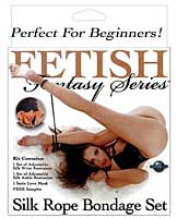 Fetish Fantasy Series Silk Rope Bondage Set