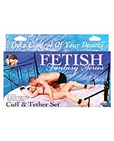 Fetish Fantasy Series Cuff & Tether Set