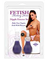 Fetish Fantasy Series Nipple Erector Set - Purple