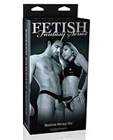 Limited edition fetish fantasy hollow strap on - black