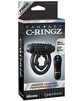 Fantasy C-Ringz Remote Control Performance Pro - Black