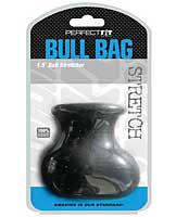 "Perfect Fit Bull Bag 1.5"" Ball Stretcher - Black"
