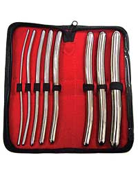 Rouge Stainless Steel Hegar 8 pc Dilator Set