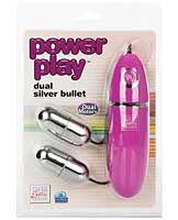 Power Play Collection Dual Silver Bullet